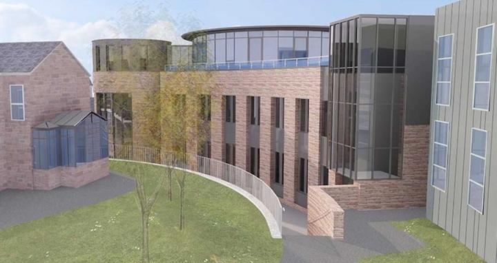Higgs Centre for Innovation Artists Impression